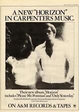 Carpenters Horizon record advert 1975 UK MM-TYHN
