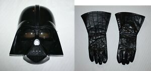 Star Wars Child Darth Vader Mask & Black Gloves Halloween Costume