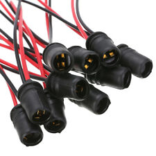 10pcs T10 W5W Light Bulb Socket Holder fit Car Truck Boat Soft Rubber Connector