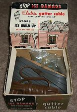 SCARCE VINTAGE NOS 50s WRAP-ON CO. CHICAGO 10 IL. ELECTRIC GUTTER CABLE BOXED