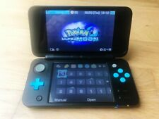 Nintendo 2DS XL Black Turquoise - with games
