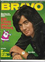 BRAVO Nr.52 vom 21.12.1970 Barry Ryan, Rattles, Romy Schneider, Golden Earing