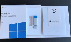Windows Server 2019 Standard 64bit 16 Core USB Flash Drive New Sealed
