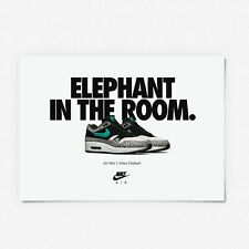 Nike Air Max 1 Atmos A2 Poster Sneaker / Trainer Print