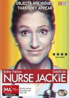 Nurse Jackie : Season 6 (DVD, 3-Disc Set) NEW