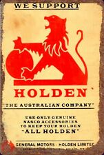 GMH holden The Australian company tin metal sign brand new free postage