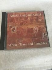 Used CD IBRAHIM,ABDULLAH: Africa: Tears & Laughter I