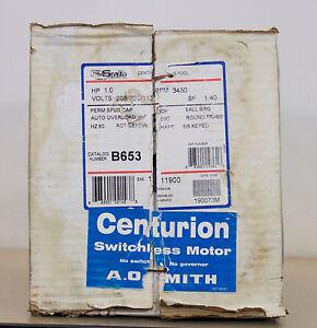 Century A.O. Smith B653 Pool Spa Motor - New Damaged Box  (FA3)