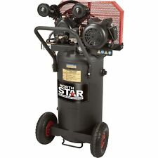 NorthStar Belt Drive Single-Stage Portable Air Compressor 2 HP 20-Gal