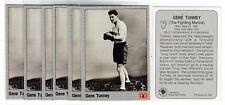 1X GENE TUNNEY 1991 All World Boxing #120 Lots Available IBF WBC