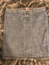 DICKIE'S WOMEN'S DENIM PENCIL SKIRT, Size16 Rockabilly Pin-up