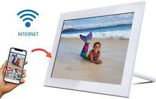 "SAMOTECH 10"" WiFi Internet IPS Touch Screen Digital Photo Frame 16GB memory"