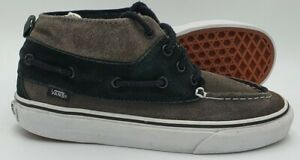 Vans Off The Wall Mid Suede Trainers TB4R Black/Grey/Gum Sole UK5.5/US8.5/E38.5