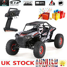 WLtoys 10428-B2 Rock Crawler 1/10 2.4G Rechargeable 4WD Desert Baja 50Km/h LED