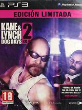 KANE & LYNCH 2 DOG DAYS. EDICIÓN LIMITADA. JUEGO PARA PS3. PAL-ESP. NUEVO, PREC.