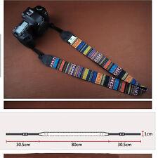 Retro Vintage style Camera Neck Strap For NEX PEN LUMIX NX EOS-M FUJI Camera 7NO