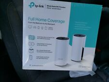 New TP Link Deco W2400 Dual Home Band Mesh WiFi Router 2-Pack System 3000 SQ FT