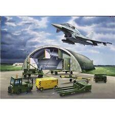 Revell 04376 - Eurofighter, Shelter & Equipment - M 1:72 Modellbau Diorama Set