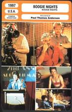 BOOGIE NIGHTS - Wahlberg,Moore,Reynolds (Fiche Cinéma) 1997