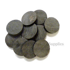 TEN LARGE WATER BUFFALO HORN SPACERS 35mm
