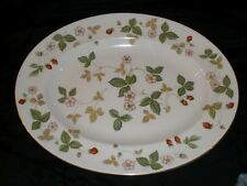"Wedgwood Wild Strawberry 14"" Oval Serving Platter"