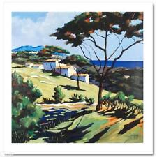 """Joanny! """"Approaching St. Tropez"""" Limited Edition Giclee on Canvas, W/ COA"""