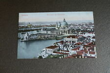 Old Vintage Postcard Venice from Bell Tower Italy Venezia panorama dal campanile