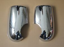 FORD TRANSIT 2000+ CHROME WING MIRROR COVERS  TRIM  NEW