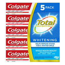 5 PACK Colgate Total Whitening Toothpaste 170ml Each - Fresh From Canada