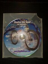 Mountain Bike Repair And Maintenance Dvd Self Help DIY.
