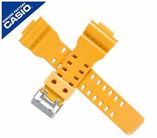 Genuine Casio Watch Strap Band for GA-100 GA-100A GA-100A-9A ORANGE YELLOW