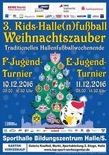 HT 10.12.2016 Halle/S. PRG. HFC FCM FCL RBL FCB BVB B04 SVW VfL 96 Programmheft