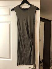 ALLSAINTS Marilla Jersey Dress Size 6 Khaki