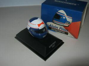 1:8 Helmet Driver A. Prost Mclaren 1987 Minichamps IN Showcase
