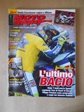 MOTOSPRINT EXTRA n°2 all.45 2010 Valentino Rossi addio a Yamaha  [MS10]