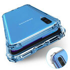 For Samsung Galaxy A10e A20 A50 A70 Cover Clear Shockproof Slim Silicone Case
