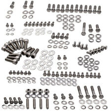 SMALL BLOCK for CHEVY 283 327 350 400 POLISHED STAINLESS OIL PAN STUD BOLT KIT