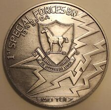 10th Special Forces Group Airborne 1st Battalion Bad Tölz Army Challenge Coin