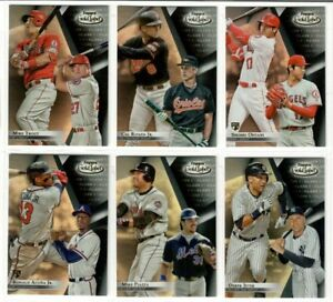 2018 Topps Gold Label Baseball CLASS BLACK 1 YOU PICK RC TROUT ACUNA OHTANI ETC