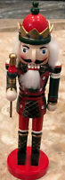 Vintage Nutcracker Christmas Decoration 14 Inch Soldier