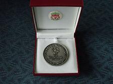 Liverpool Memorabilia Football Medals & Coins