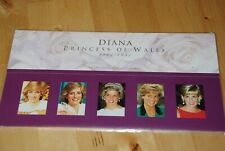 Diana Princess of Wales 5 x Se-tenant 1961-1997 MNH VF United Kingdom q50
