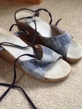 Wedge Sandals, Size 40