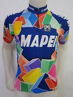 MAGLIA SHIRT CICLISMO TEAM MAPEI SANTINI CYCLING BIKE ITALY CYCLISM SPORT MB225