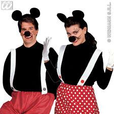 SET TOPINO/TOPINA Carnevale Accessori Costumi Topolino Mickey Mouse Minnie 2989T