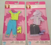 2x Barbie Cool & Casual Fashions / Look / Moden Kleidung / Outfit - 2002 Mattel