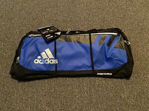 Adidas Duffle Team Gym Bag Blue/Black - MEDIUM SIZE