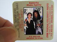Original Press Photo Slide Negative - Lenny Kravitz & K.D. Lang - 1993 - A