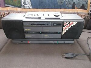 Vintage Polytron Grand Compo Bazzoke PSC-36KVB Boombox Cassette Player Recorder