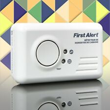 First Alert Wall Mountable Battery Powered Carbon Monoxide Detector Alarm